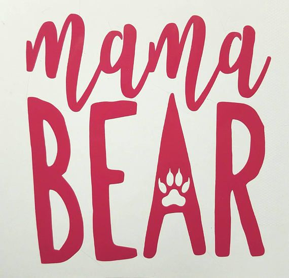 Mama Bear Fr Vinyl Decal Sticker For Yeti Cars Walls Tumblers - Custom vinyl decals macbook