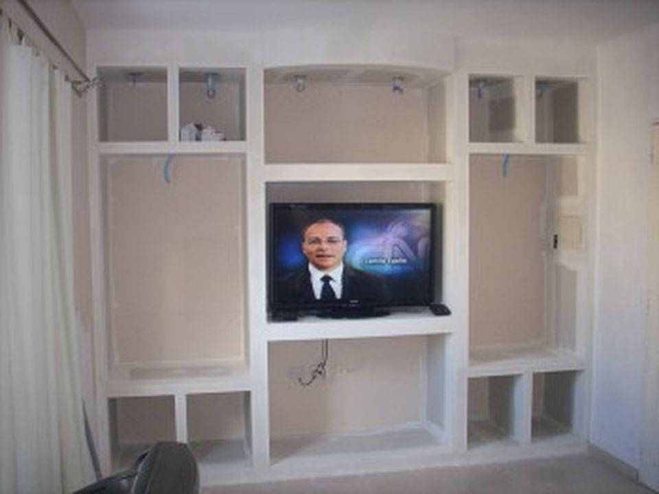 Mueble para Tv en Durlock (Propio)
