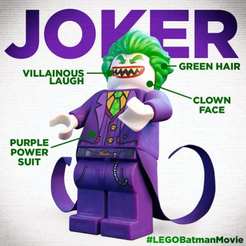 The Lego Batman Movie Character Profile The Joker Batman Movie Lego Batman Movie Joker