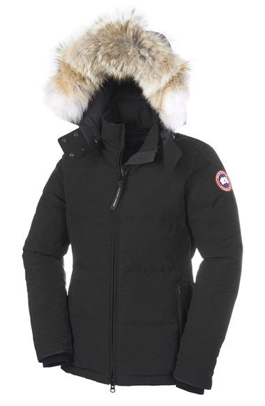 canada goose fur trim cleaning