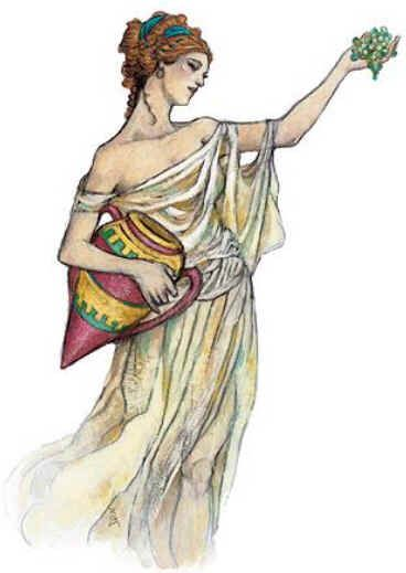 Vesta Is Just The Roman Name For Hestia The Greek Goddess Of The
