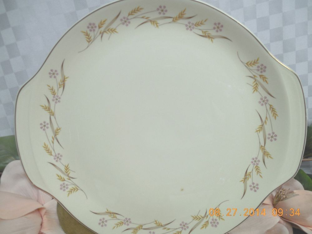 Universal China Dinnerware Harvest Ballerina large Round handled Platter #Universal & Universal China Dinnerware Harvest Ballerina large Round handled ...