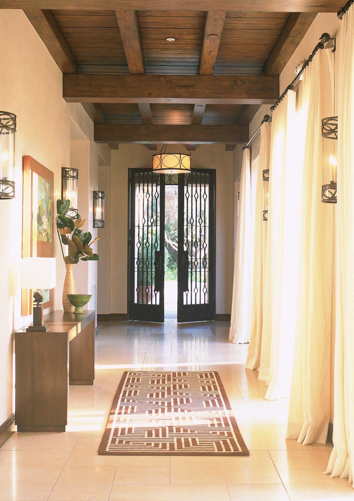 Entry hall in  home by mark cutler design also decor ideas pinterest rh