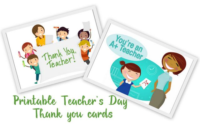20 awesome teachers day card ideas with free printables card 20 awesome teachers day card ideas with free printables m4hsunfo