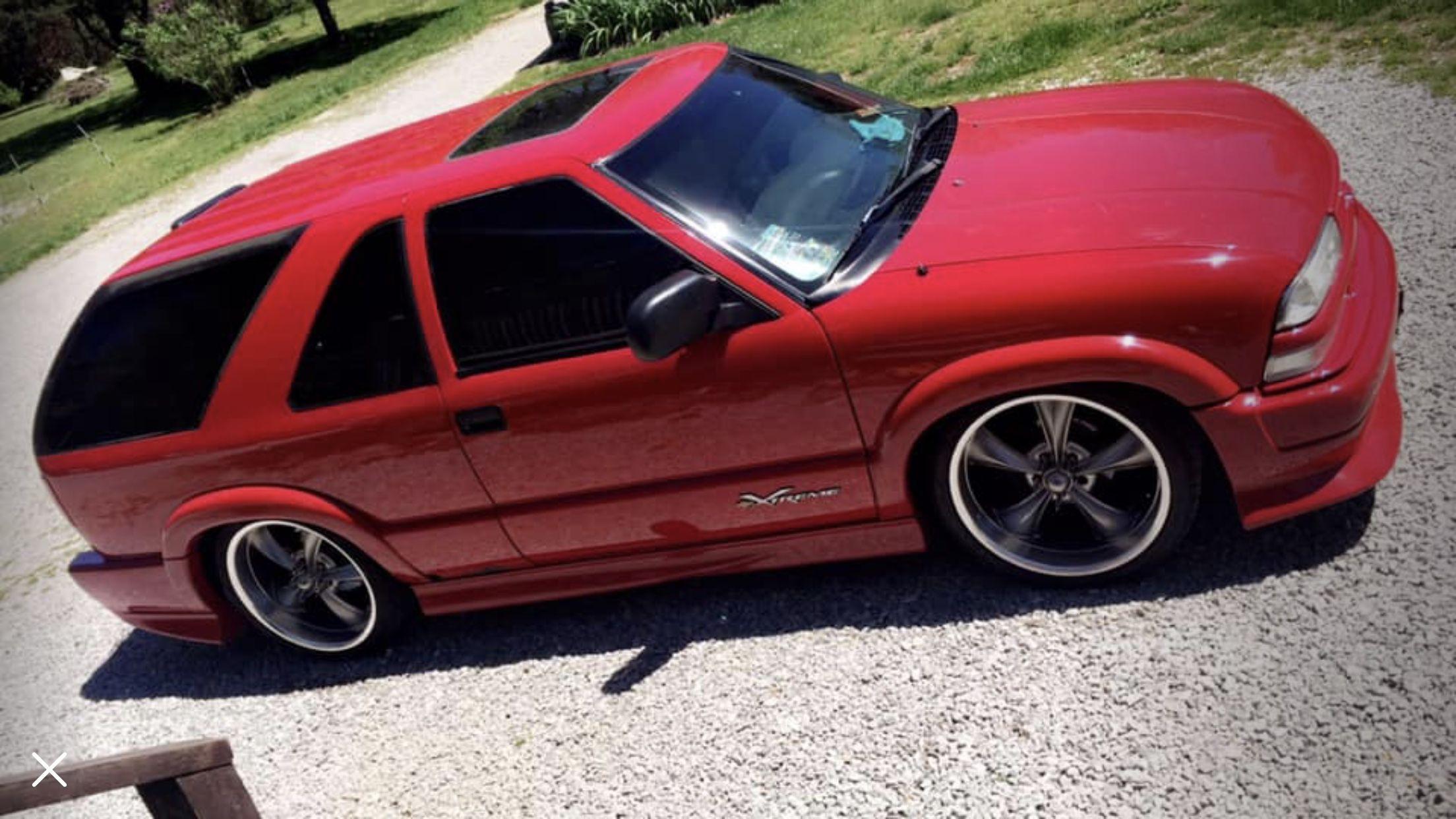 Pin By Vitor Vaz On S10 Blazer Xtreme Custom Chevy Trucks Chevy S10 Chevrolet Blazer