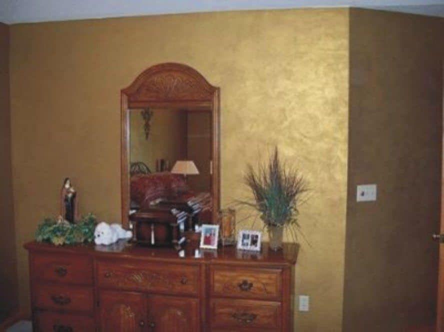 Good Metallic Interior Wall Paint Ideas Gold Painted Walls
