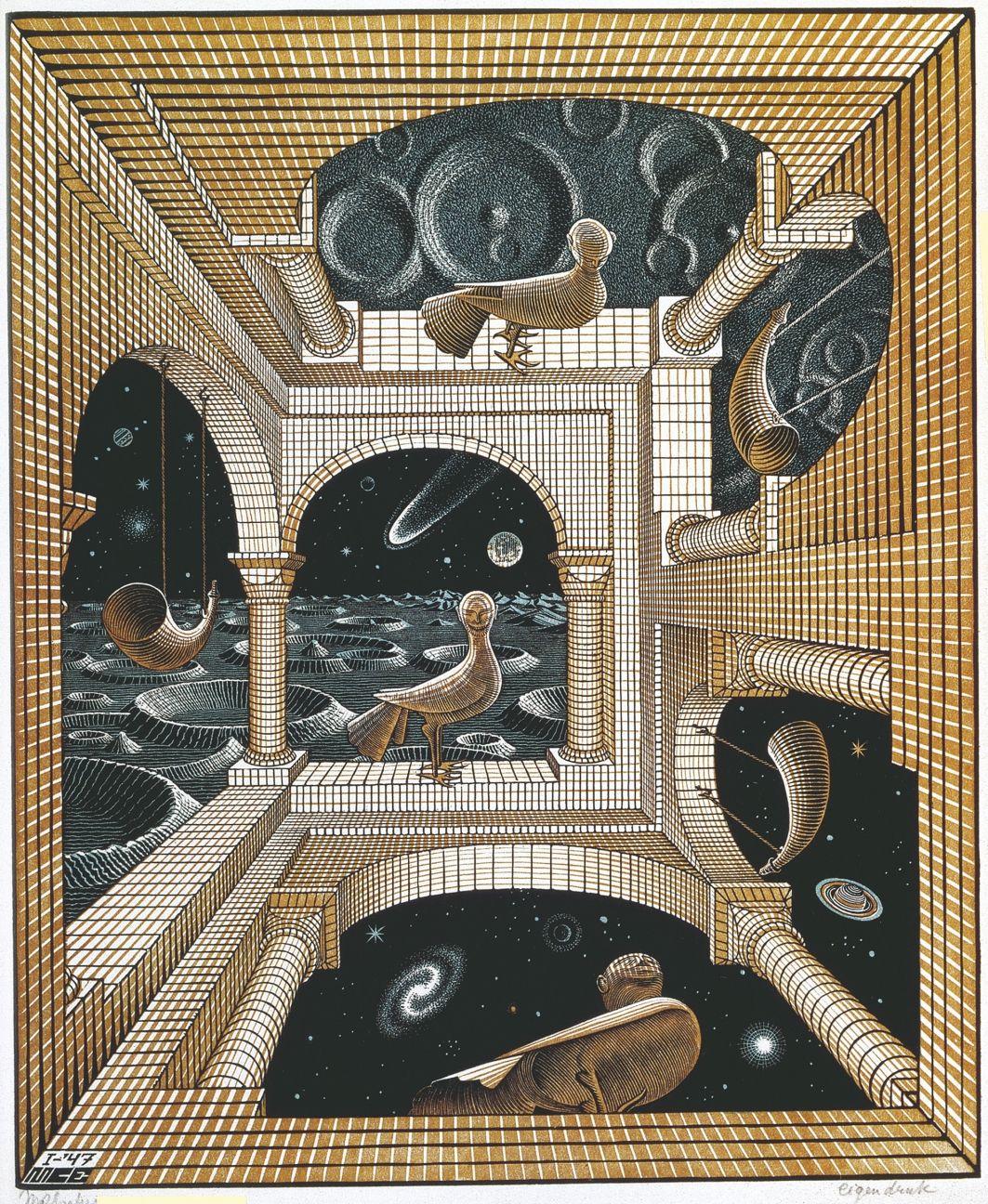 El arte imposible de M. C. Escher se instala en Madrid a partir de febrero. Es una de las recomendaciones de nuestra agenda cultural de esta semana.