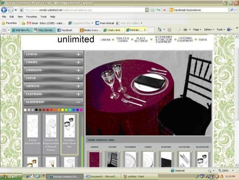 Design Your Own Virtual Tablescape Wedding Table