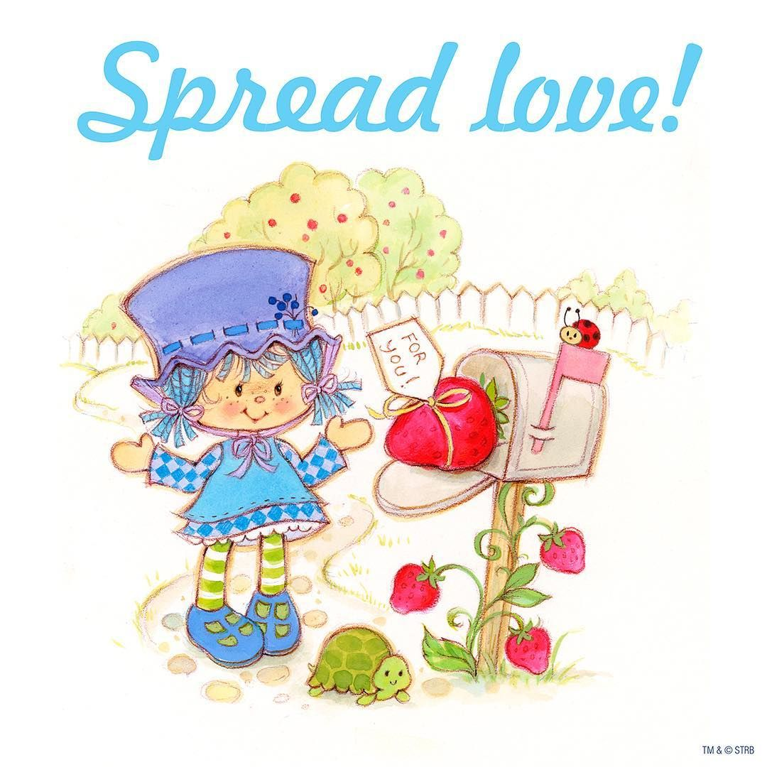 Spread love today! | Frutillita, Strawberry Shortcake | Pinterest ...