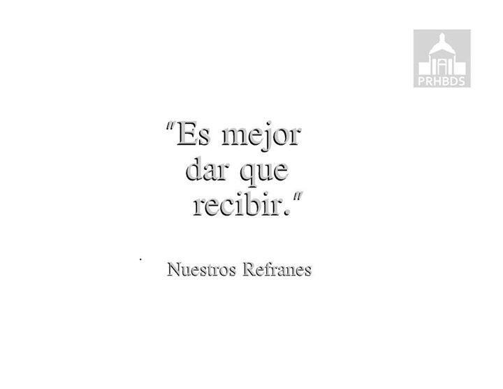 """""""Nuestros Refranes"""""""