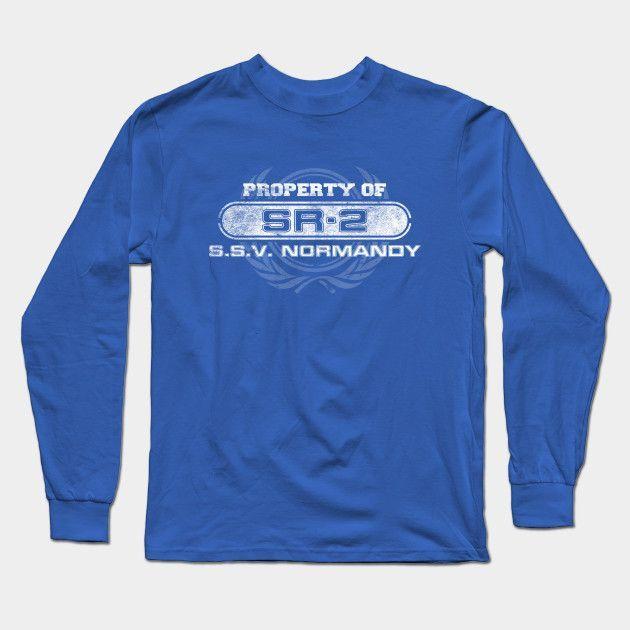 Property Of Sr2 Long Sleeve T-Shirt