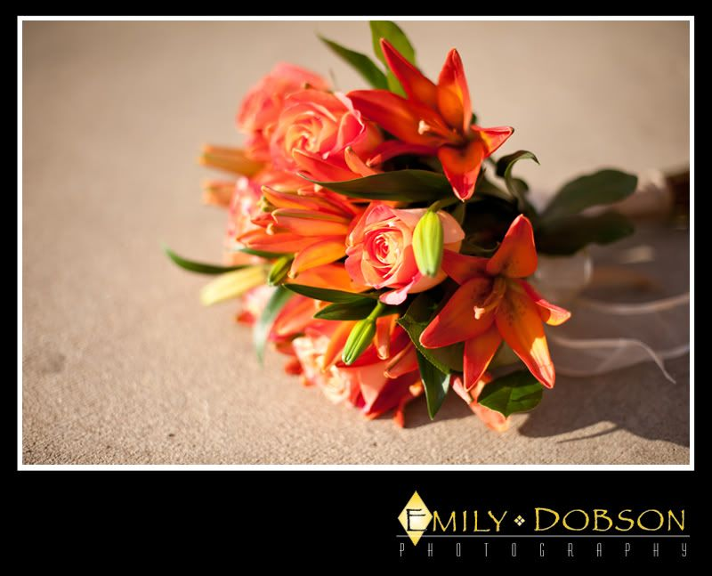 Gorgeous flower arrangement (Photo by Emily Dobson Photography)