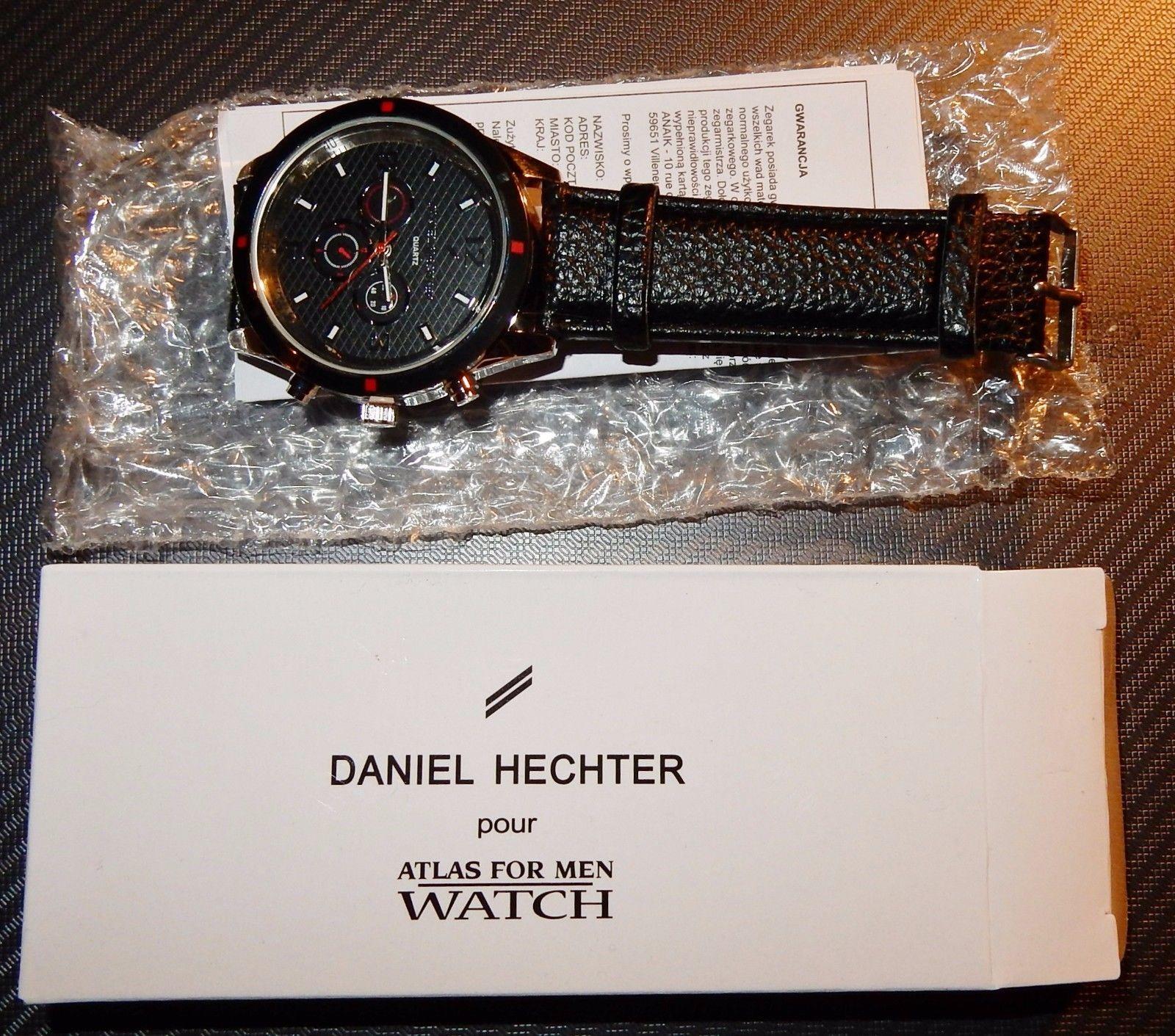 watch f68ce 761f6 Ebay Herrenuhren Herren Armbanduhr Uhr Daniel Hechter Atlas ...