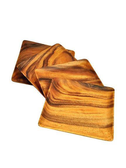 Pacific Merchants Acaciaware Set of 4 Square Serving Tray/Plate, http://www.myhabit.com/redirect/ref=qd_sw_dp_pi_li?url=http%3A%2F%2Fwww.myhabit.com%2Fdp%2FB01823QJMY%3F