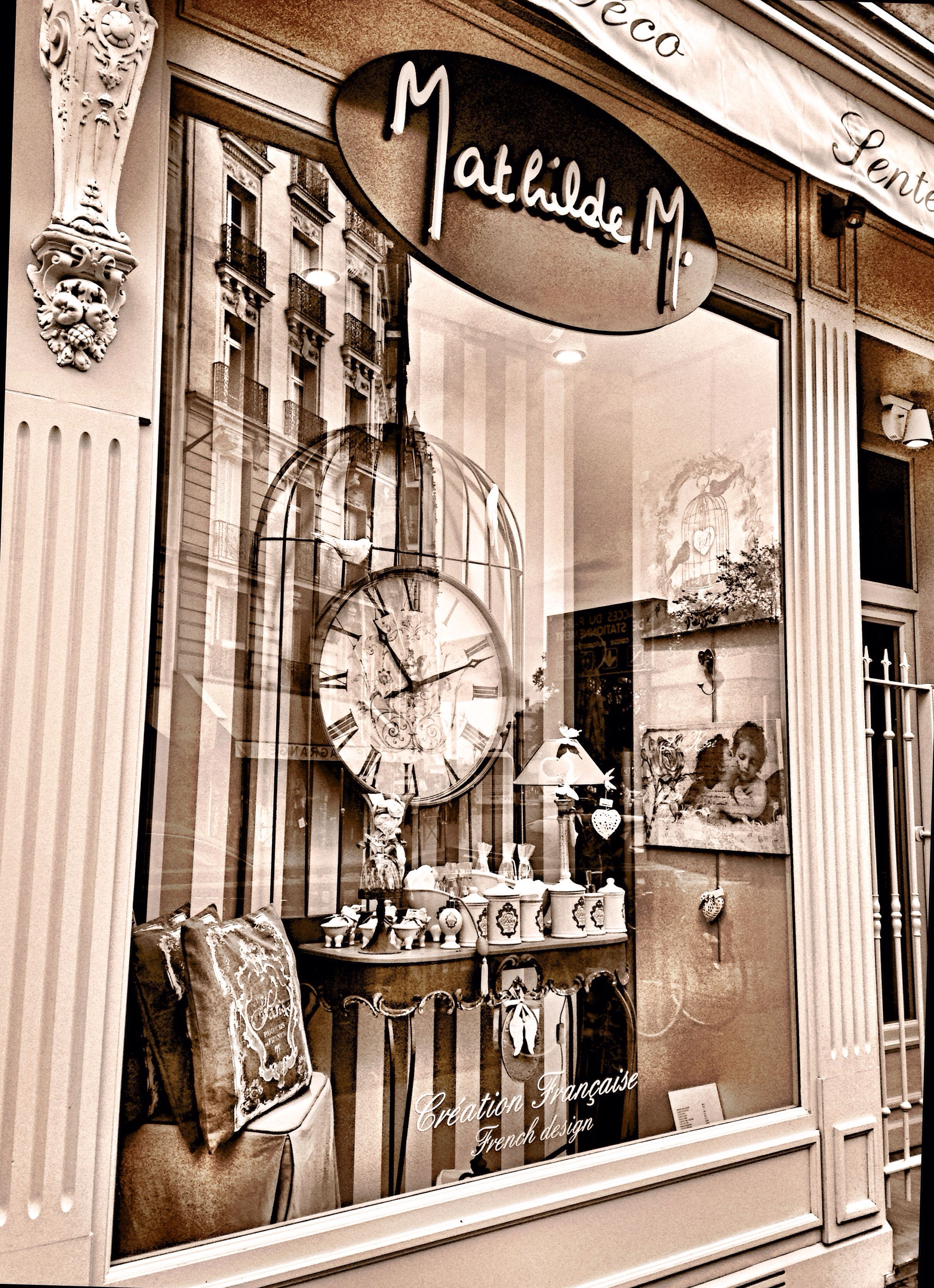 Boutique Mathilde M storefront photography - mathilde m. boutique, paris, france   paris