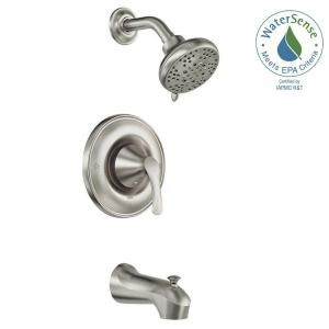Moen Darcy Single Handle 5 Spray Tub And Shower Faucet With Valve