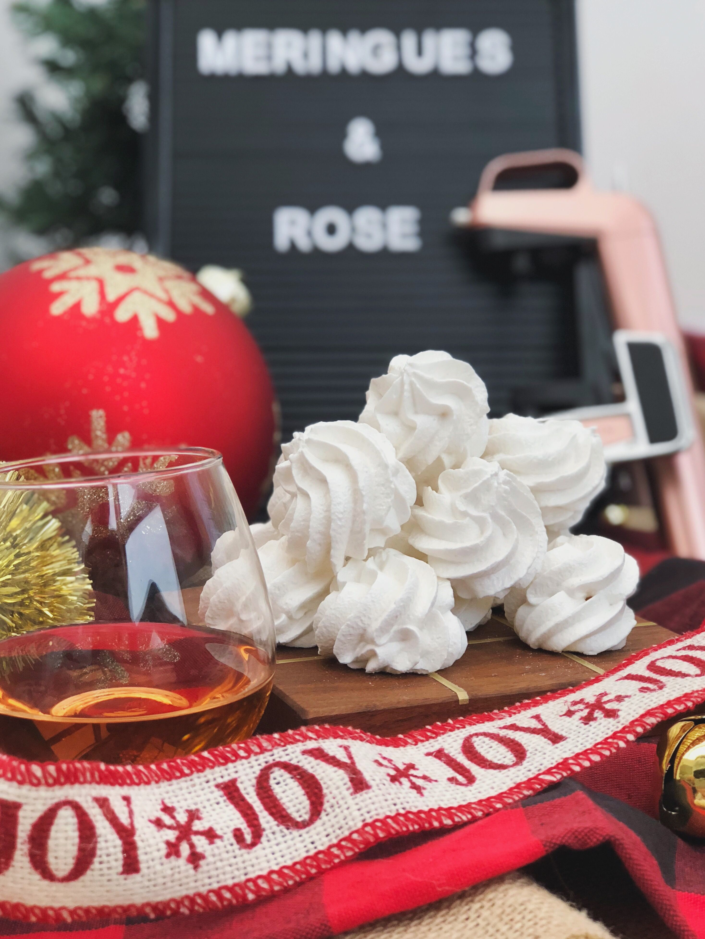 What Better Way To Kick Off The Holidays Than With Our Festively Curated Twelve Days Of Coravin Christmas Pairings On The First Holiday Meringue Cookies Day