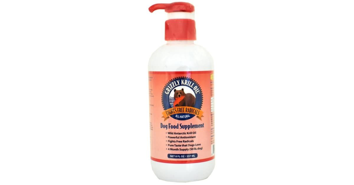 Grizzly Antioxidant Krill Oil For Dog 8 Oz Oils For Dogs Krill Oil Pet Health