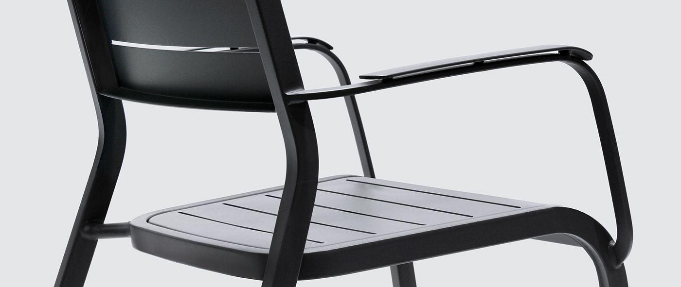 Chaise Aluminium Extrieur Gamme Hyba Alu 152