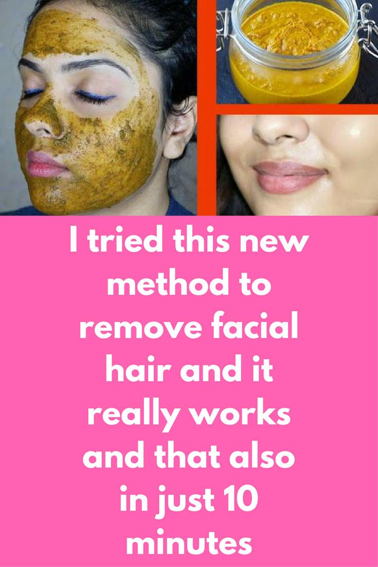 I Tried This New Method To Remove Facial Hair And It Really Works