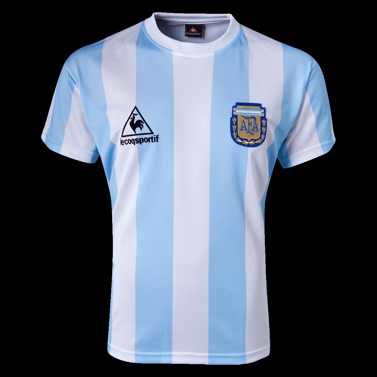 Argentina Maradona Home Shirt 1986