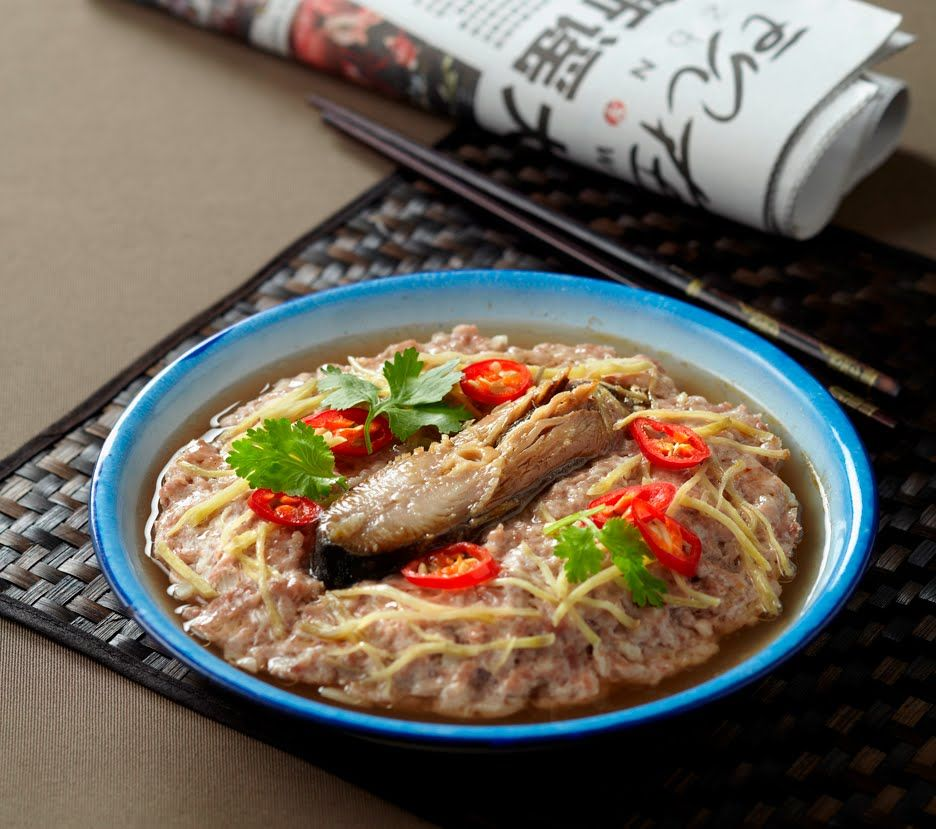Steamed pork with salted fish my singapore food chinese food steamed pork with salted fish my singapore food forumfinder Choice Image