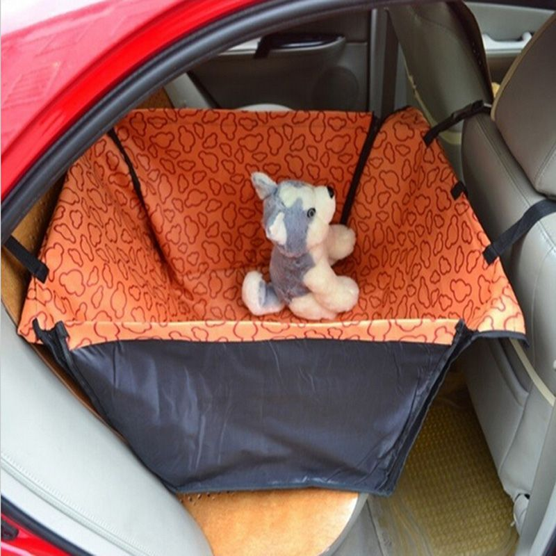 waterproof i back protector seat car cover hsc pet mat dog hammock blanket cat itm black