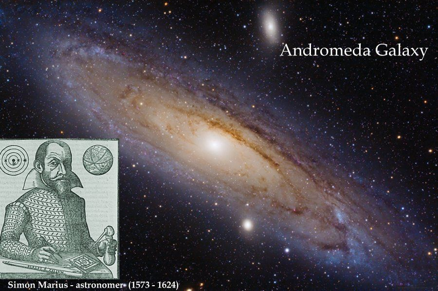 On This Day In History Mathematician And Astronomer Simon Marius Independently Rediscovered Andromeda Galaxy On Dec 15 1612 Ancient Pages Andromeda Galaxy Astronomer Mathematician