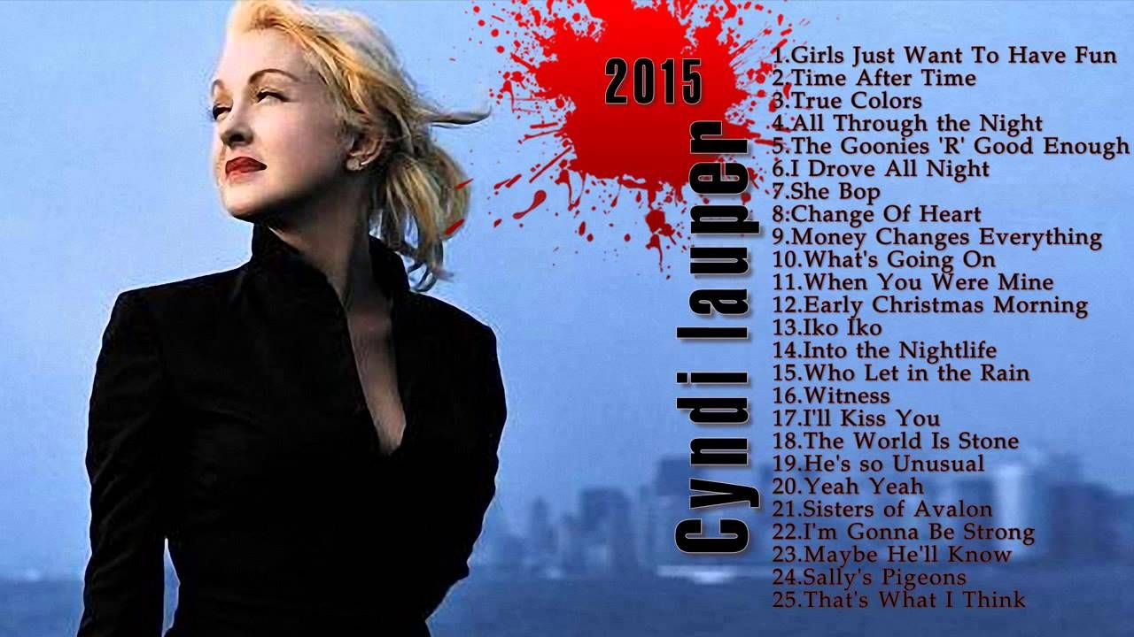 cyndi lauper Greatest Hits Best song Of cyndi lauper