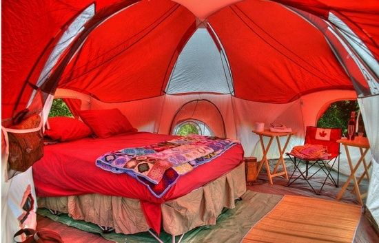 Coole Camping Zelt Designs