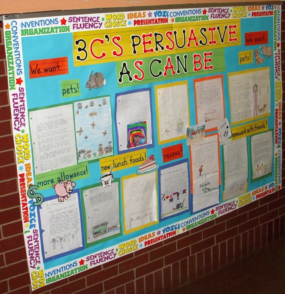 ideas for persuasive writing Persuasive writing is an important tool for students of all ages keep reading to find kid-friendly persuasive writing prompts to help you start.