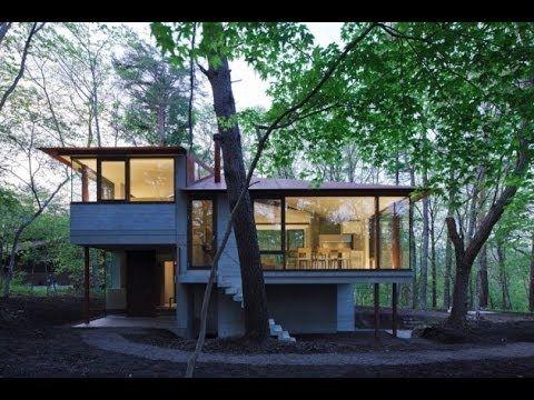 Dise o de casa de campo moderna youtube japanese home for Casa moderna design