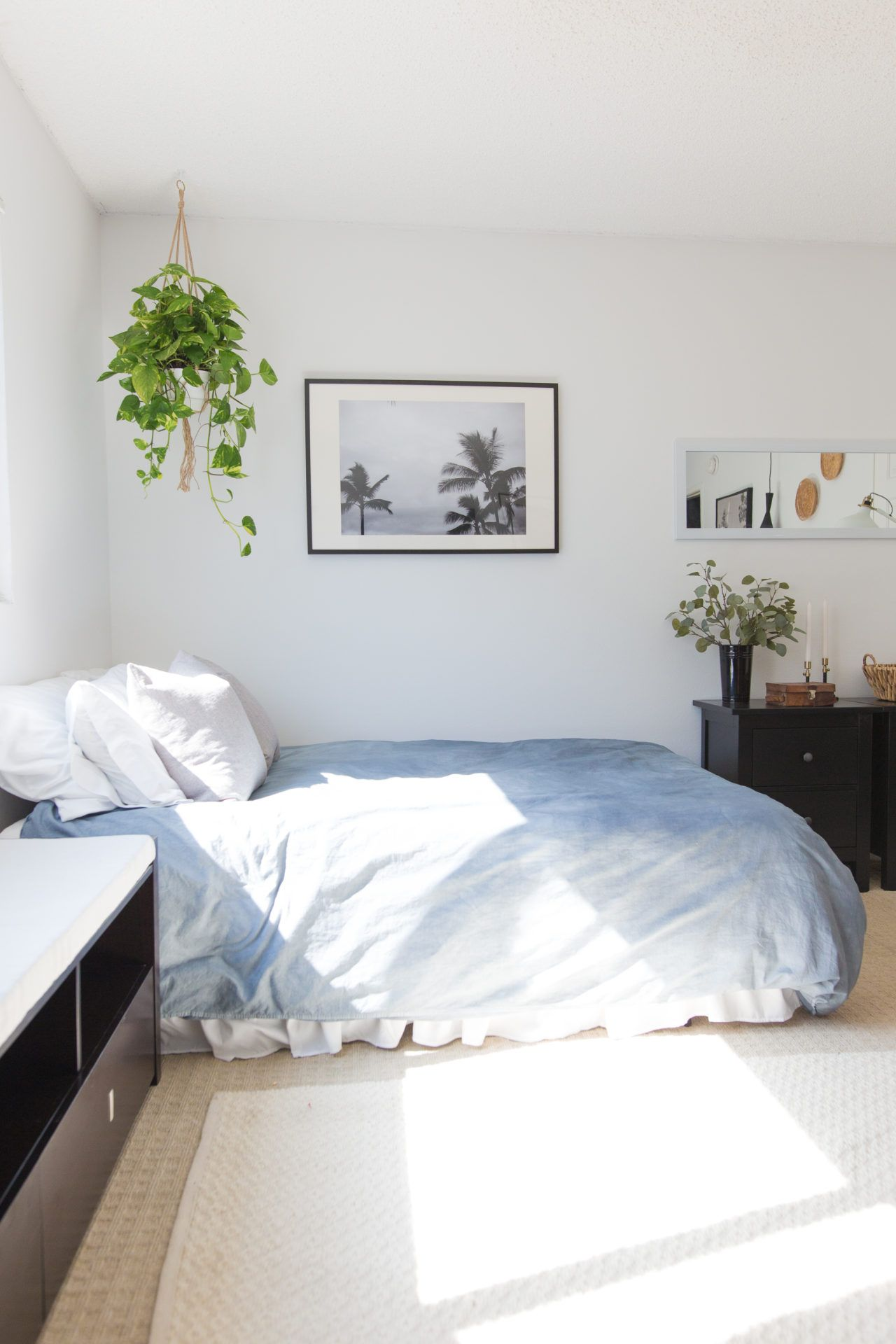 Don't have a headboard? Check out these super and simple