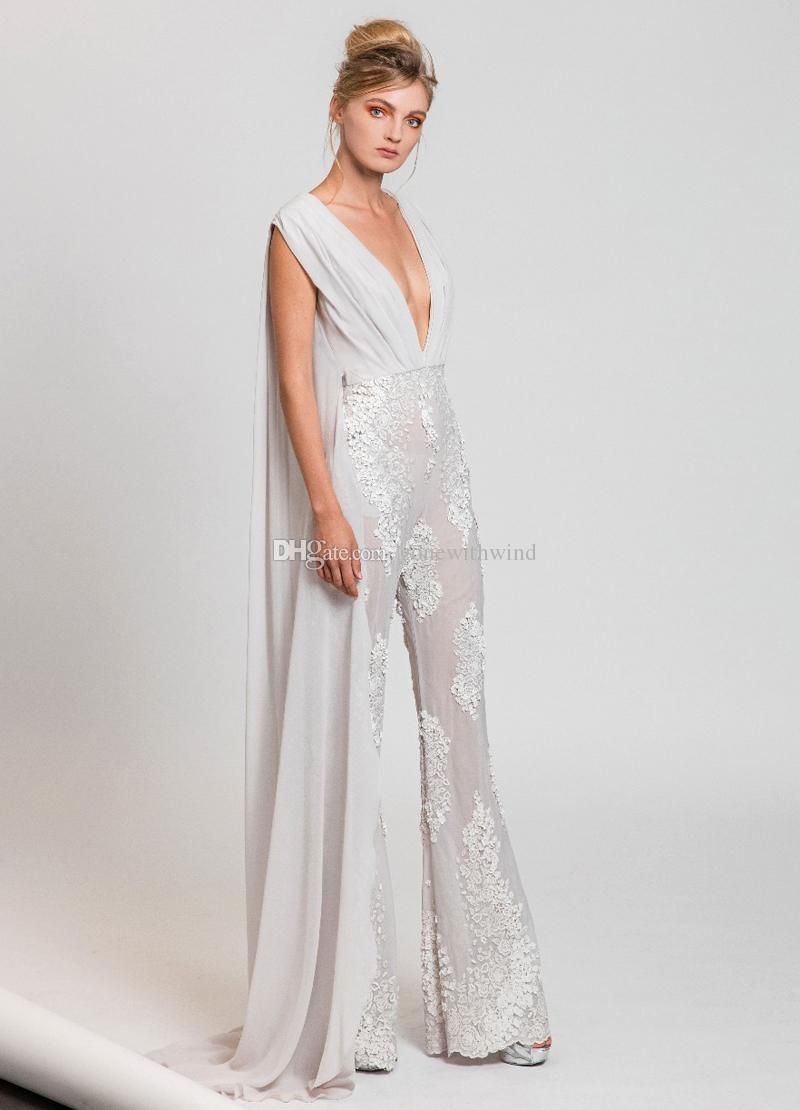 1fe819199b white jumpsuit evening gowns 2017 tony ward dress for evening ready ...