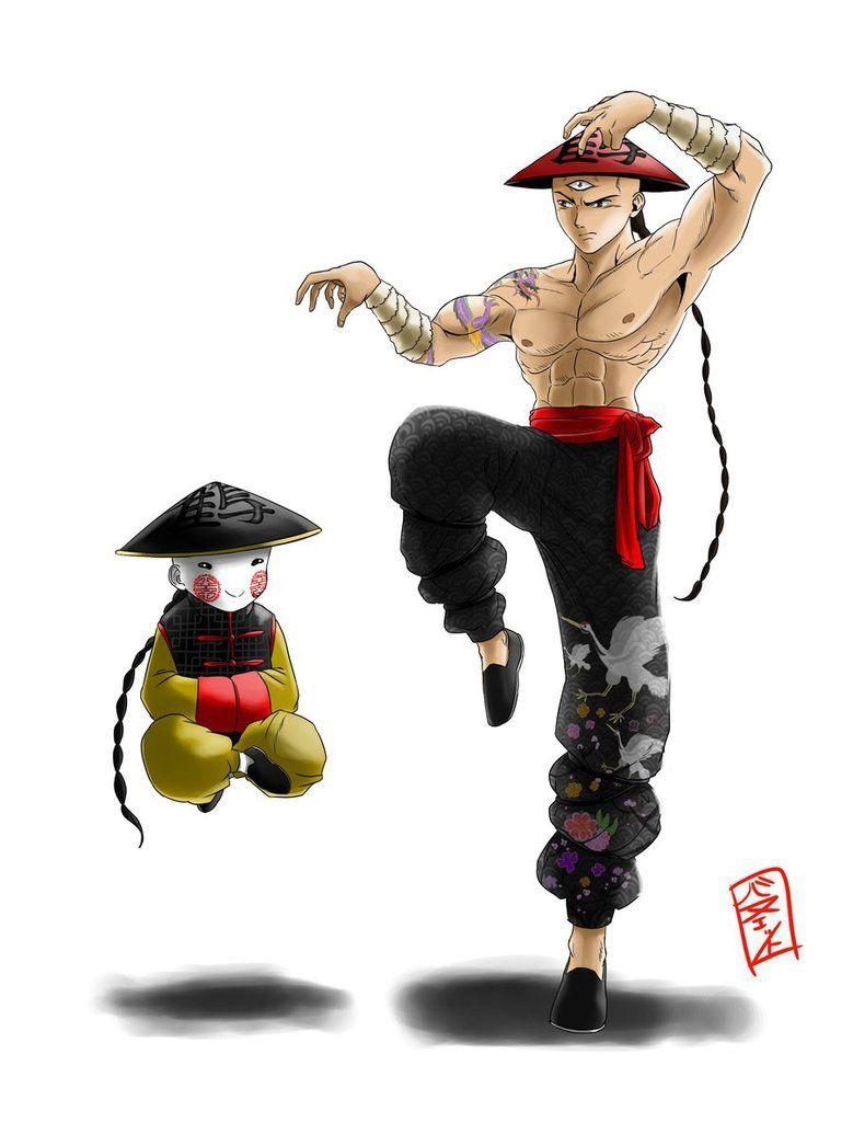 Tenshinhan And Chiaotzu Redesign By Whysogurin On Deviantart Goku And Bulma Anime Dragon Ball