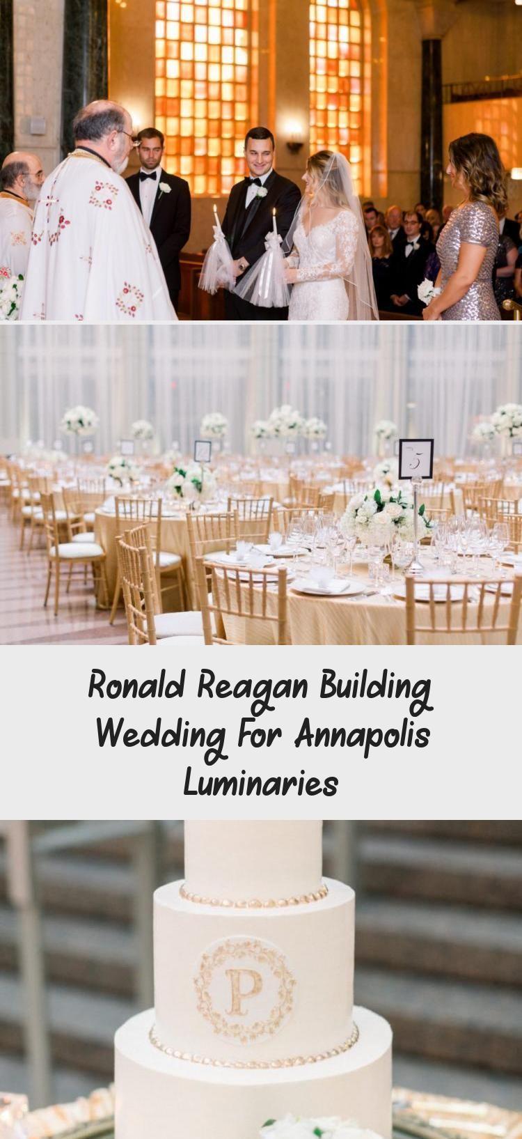 Ronald Reagan Building Wedding For Annapolis Luminaries in