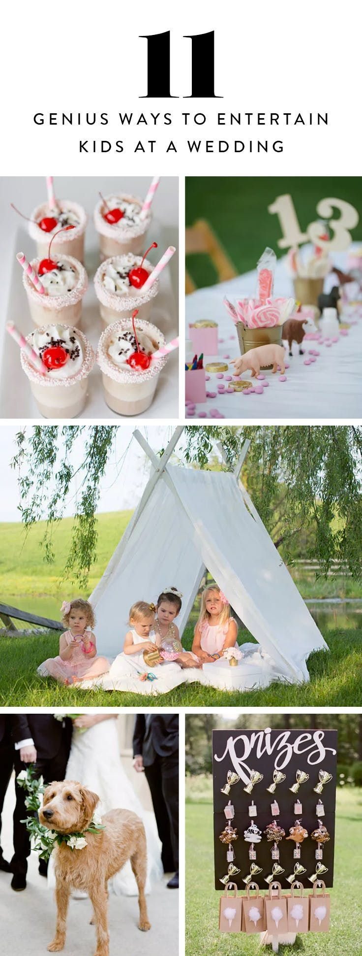 11 Genius Ways to Entertain Kids at a Wedding is part of Wedding with kids - From the open bar to the golden oldies, weddings are the ultimate feelgood party for grownups  But what's in it for the little ones  Keep your smallest guests not only occupied but delighted with these 11 fun ideas  RELATED 12 Nontraditional Wedding Trends That Will Make You Want to Redo