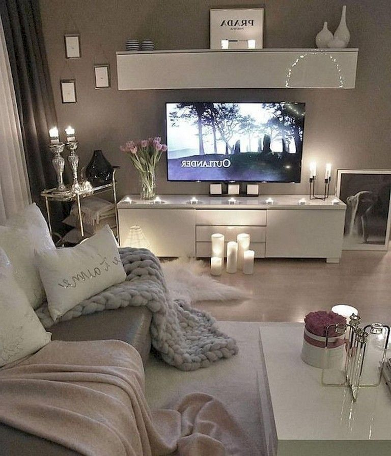 77+ Comfy Apartment Living Room Decorating Ideas   Simple ... on Awesome Apartment Budget Apartment Living Room Ideas  id=40444