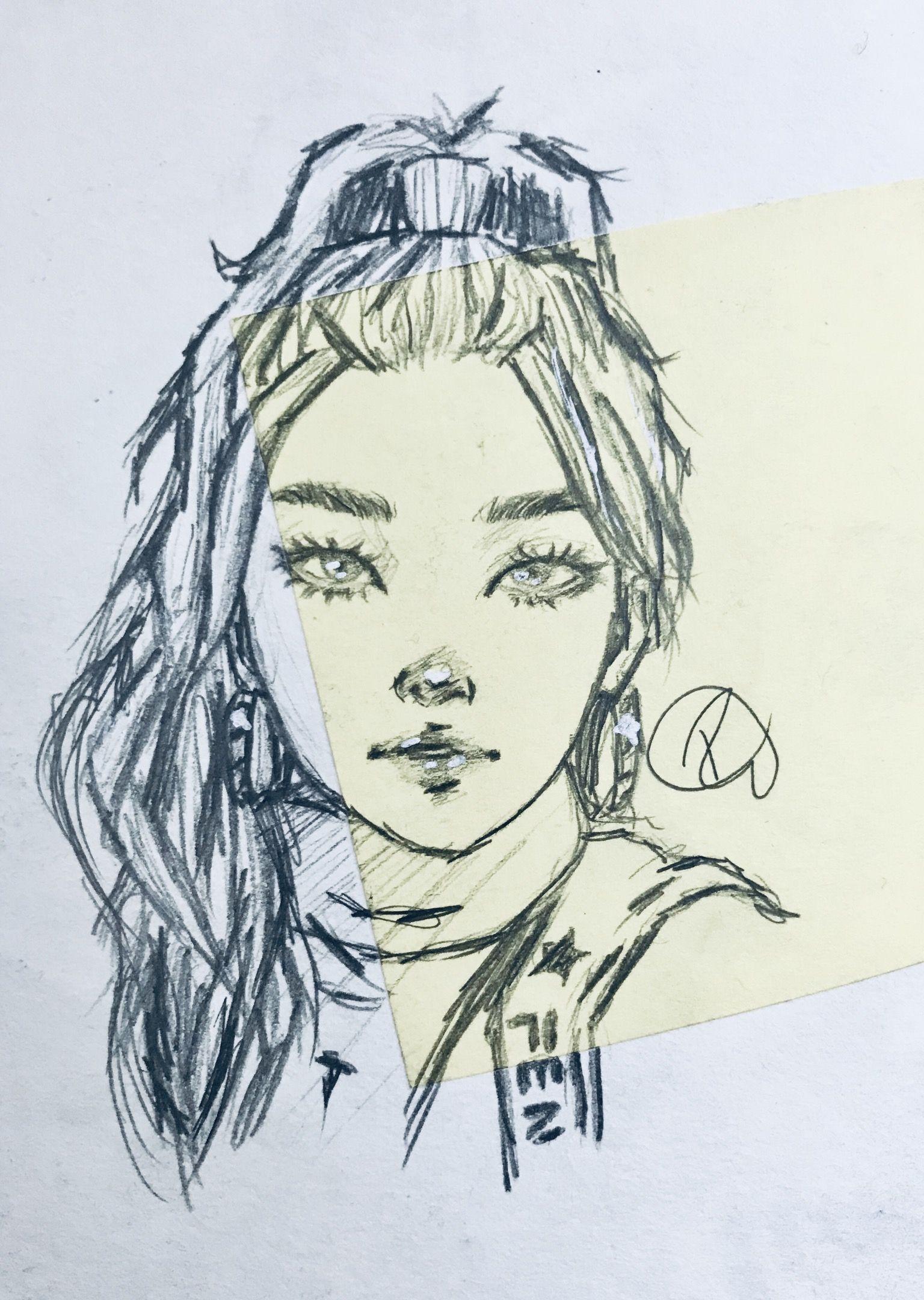 A Quick Random Sketch Art Sketch Draw Drawing Cool Sketching Drawing Sketches Girl Drawing Sketches Drawings
