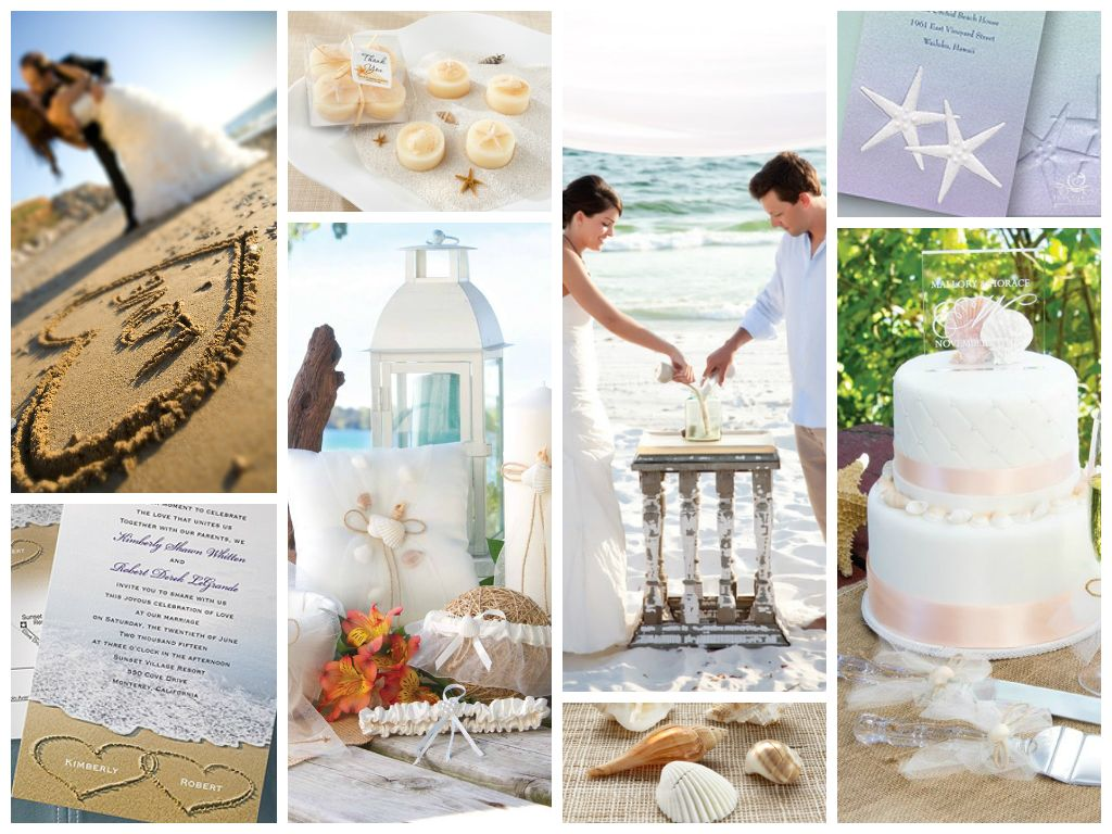Creative Wedding Theme: Beach Wedding #CreativeWeddings ...