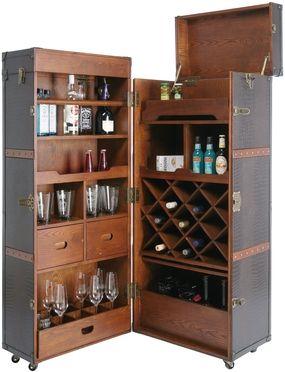 Mueble bar colonial tienda on line de muebles vintage for Tiendas de muebles para restaurantes
