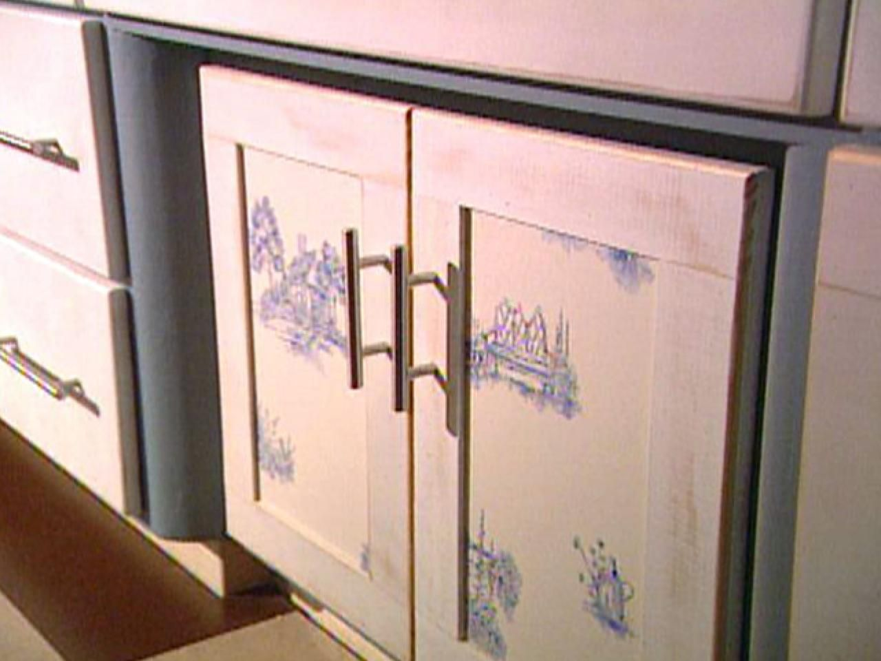 An Inexpensive Way To Update Kitchen Cabinets