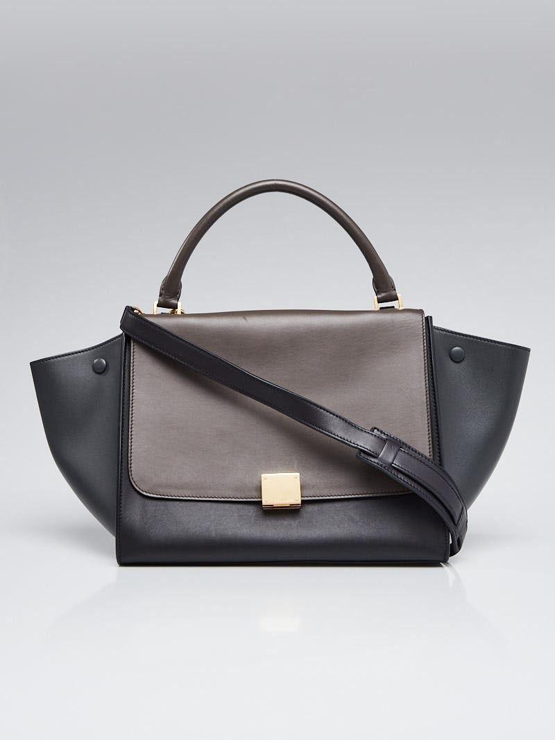 ec67d0ef4db0 Celine Tri-Color Smooth Leather Medium Trapeze Bag in 2019 | Clothes ...