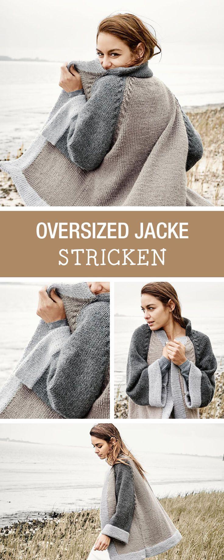 Photo of DIY-Anleitung: trendige Oversize Jacke für den Winter, Dein Cardigan für …