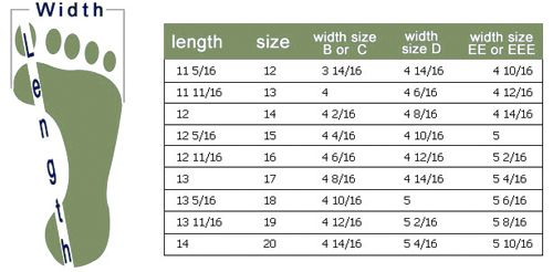 Big feet sizing chart shoe size socks and sandals knitting boot also how to knit shoes rh pinterest