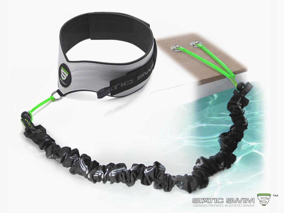 stationary swim trainer for water aerobics and aqua fitness