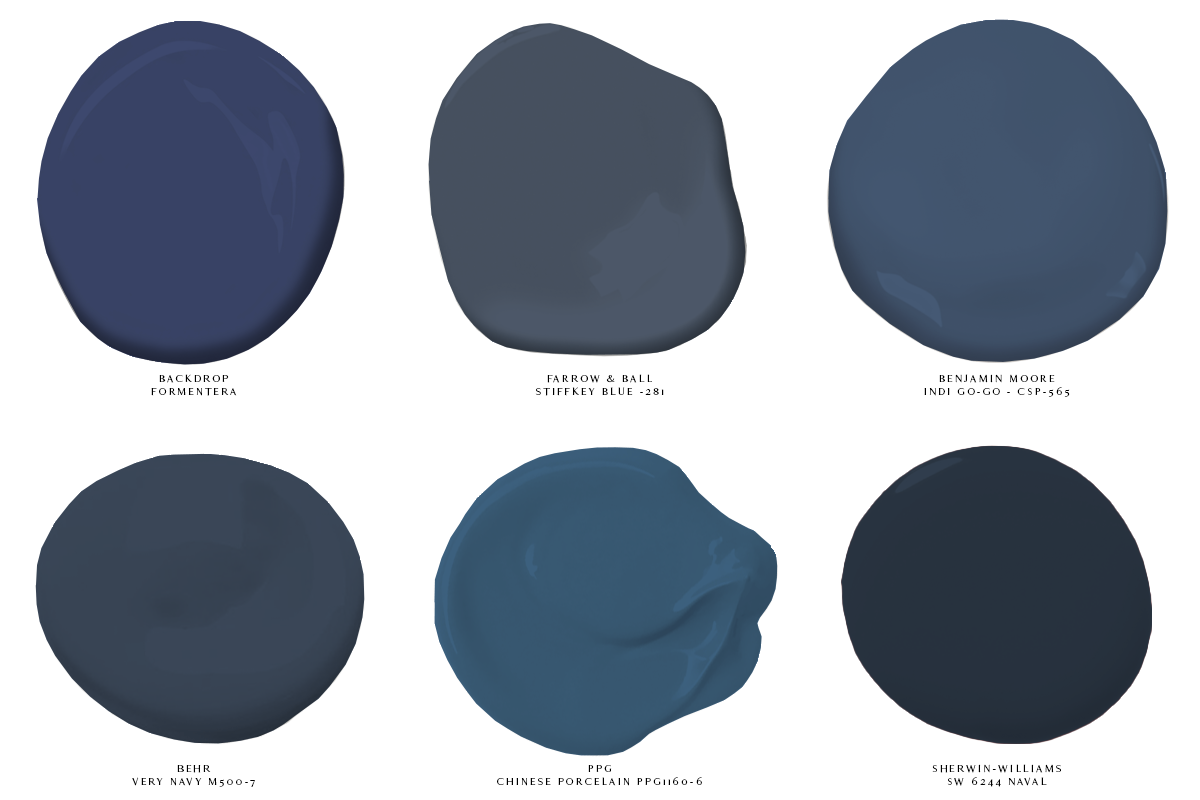 Color Love Pantone Color Of The Year 2020 West South Dark Blue Paint Color Blue Paint Swatches Drawing Room Blue