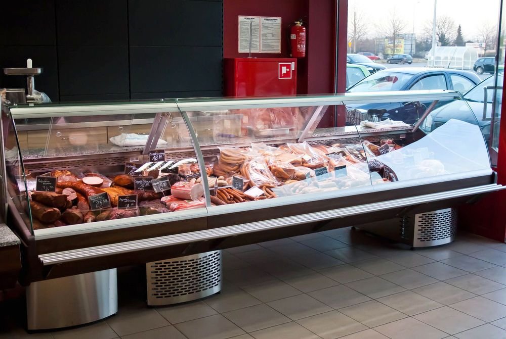 Serve Over Counter 1 5m Display Fridge Meat Chiller