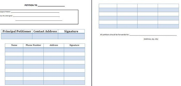 Petition template 12 petition templates Pinterest Template