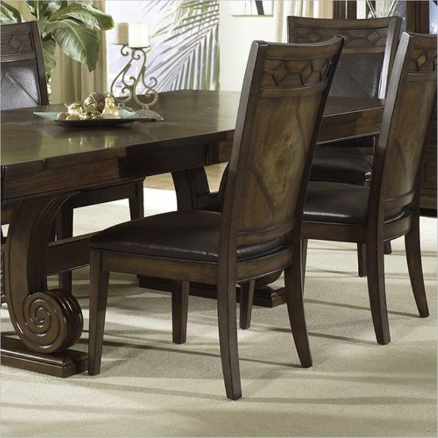 Leather Dining Room Chairs A Touch Of Cl And Elegance In E Ideas Pinterest